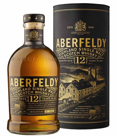 Whisky Aberfeldy 12 anos 750 ml - Single Malt