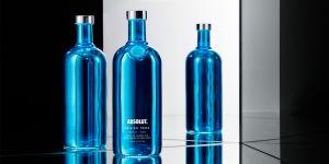 Vodka Absolut Electrik Azul 1000 ml
