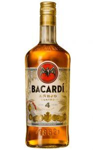 Rum Bacardi 4 Anos Anejo 750 ml