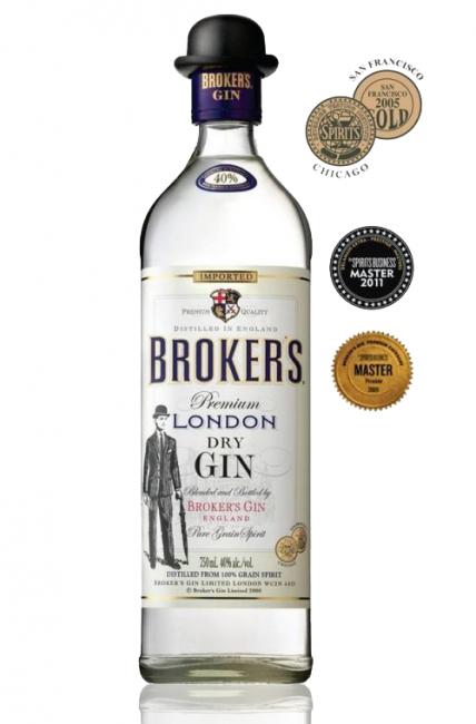 Gin Brokers Premium London 750 ml