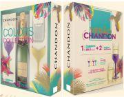 Chandon Colors Collection Brut 750 ml + 2 Taças