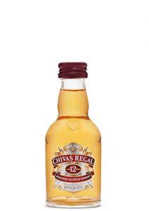 Miniatura Chivas Regal 12 anos 50 ml