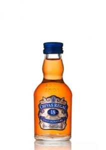 Miniatura Chivas Regal 18 anos 50 ml