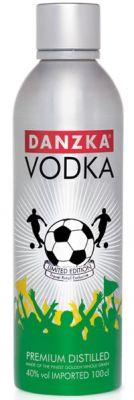 Vodka Danzka Football Edition 1000 ml