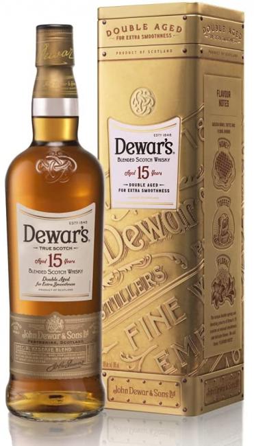 Whisky Dewars 15 anos The Monarch 750 ml - Lata