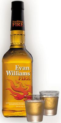 Whisky Evan Williams Fire 750 ml