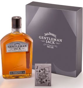 Whisky Gentleman Jack Poker Cards 1000 ml