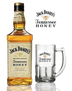 Kit Jack Daniels Honey com Caneca 1000 ml