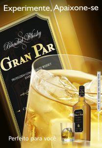 Kit 04 Whisky Gran Par + 4 Energético F-15 + Brindes