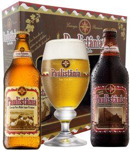 Kit 2 Cervejas Paulistânia c/ Taça