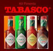 Kit 4 Pimentas Tabasco Sabores