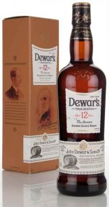 Kit Whisky Dewars White Label 750 ml + Dewars 12 anos 750 ml