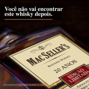 Whisky Mac Seller's 20 Anos 750 ml