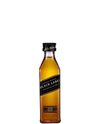 Miniatura Johnnie Walker Black Label 50 ml