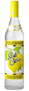 Vodka Stolichnaya Citrus 750 ml + 250 ml Bônus