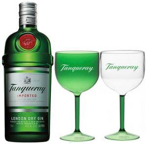 Gin Tanqueray 750 ml + 2 Taças