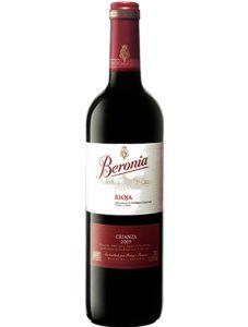 Vinho Beronia Crianza Rioja D.O.C.