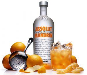 Vodka Absolut Mandrin 1000 ml