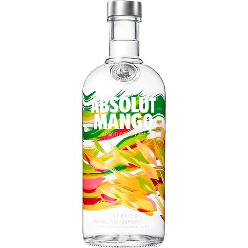 vodka absolut mango 1000 ml na casa da bebida