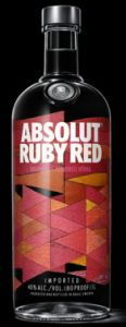 Vodka Absolut Ruby Red 1000 ml
