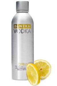 Vodka Danzka Citrus 1000 ml