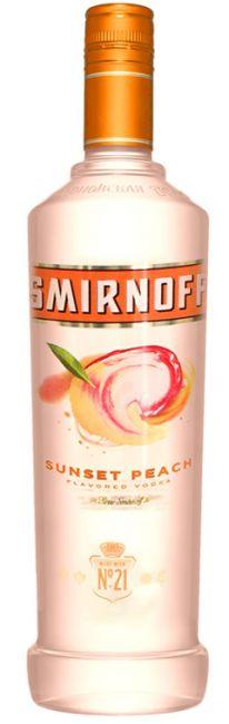 Vodka Smirnoff Sunset Peach 998ml