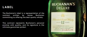 Whisky Buchanan's 12 anos 1000 ml