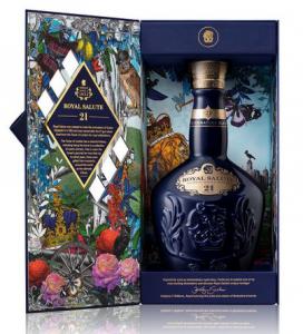 Whisky Chivas Royal Salute 21 anos Azul 700 ml