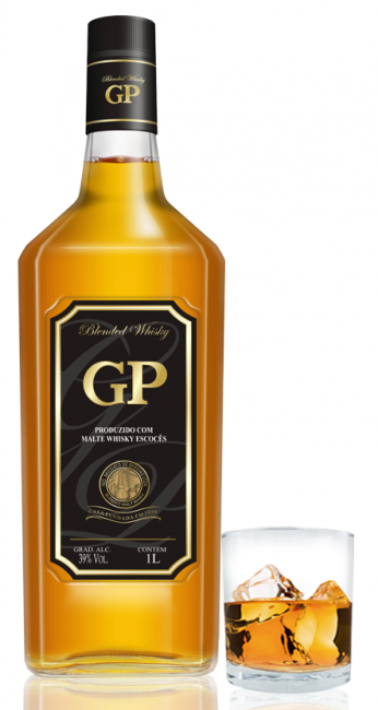 Whisky GP Gran Par + Copo 1000 ml